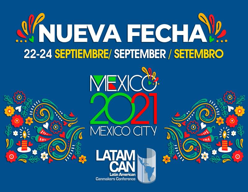 Nueva fecha para la conferencia LATAMCAN